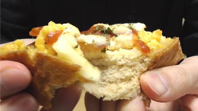 ハムエッグトースト~ブラン入り食パン使用~(ローソン)9