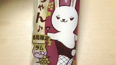 ロールちゃんラムレーズン味2