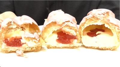 苺ショートケーキのエクレア(モンテール)6
