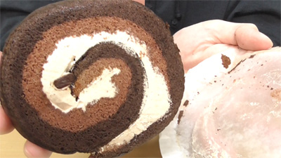 チョコの厚切りロール(ヤマザキ)5