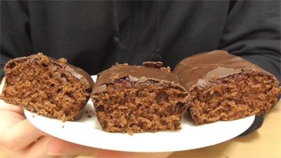 クリスマスチョコケーキ 3種のベリージャム5