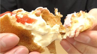 苺ショートケーキのエクレア(モンテール)9