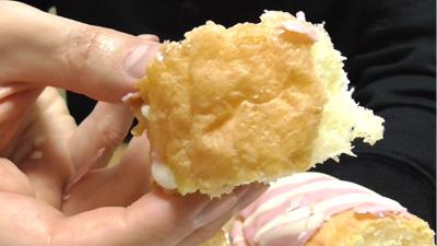 エクレアみたいなパンいちご&ホイップ8