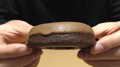 ブランの焼きドーナツチョコ(ローソン)3