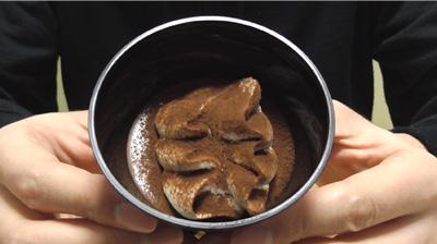 大人のとろ生食感ショコラ(セブンイレブン)2
