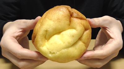 シュークリームみたいなパン2