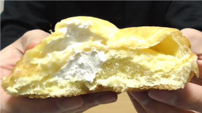 シュークリームみたいなパン6