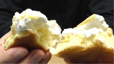 シュークリームみたいなパン7