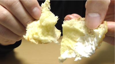 シュークリームみたいなパン8