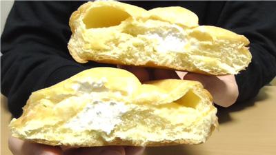 シュークリームみたいなパン5