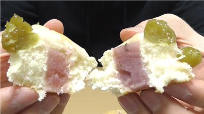 桜香るあんぱん 桜あんとうぐいす豆10