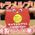 キャラメルプリン(山崎製パン×東ハト)、賞味期限長めのコラボ商品(今月二つ目)!!