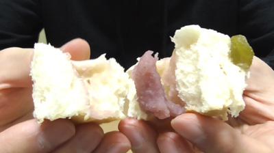 桜香るあんぱん 桜あんとうぐいす豆7