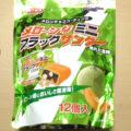 メロ~ンなミニブラックサンダー熟れた雷神(有楽製菓)、北海道限定、全国的に売ってほしい気もしますw