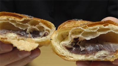 あんこクロワッサン北海道産小豆の餡使用11
