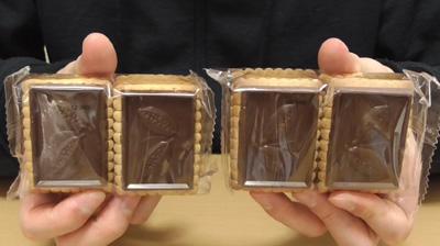 業務スーパー-バタービスケット&ミルクチョコレート3