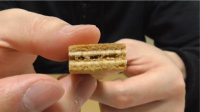 なごや嬢プレミアムホワイトチョコサンドクッキー(桃の館)12