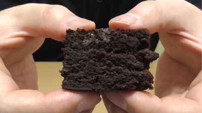 厚切りチョコケーキ(ファミリーマート)8