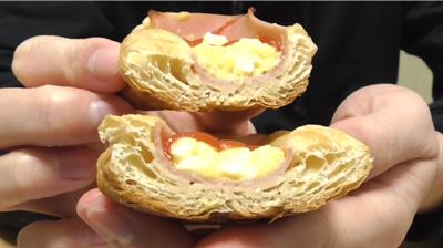 ブランのハムエッグデニッシュ6