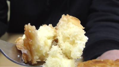 カリッと食感のアーモンドとしっとり生地のフロランタン風ケーキ15