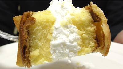 シューロールケーキ カルピスを使用したクリーム15