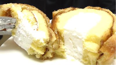 シューロールケーキ カルピスを使用したクリーム13