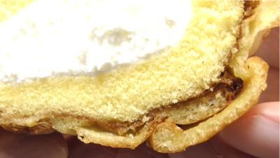 シューロールケーキ カルピスを使用したクリーム7