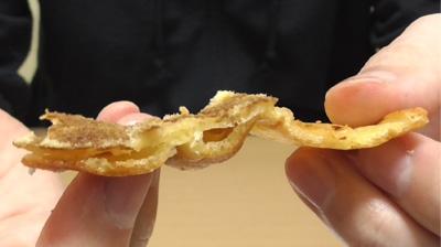 シューロールケーキ カルピスを使用したクリーム12