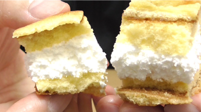 シューロールケーキ カルピスを使用したクリーム9