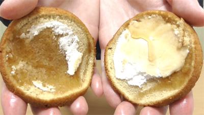 ブランのパンケーキ2個入メープル&ホイップ9
