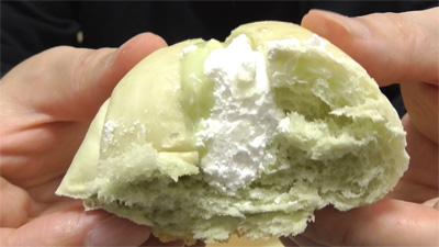 メロンロール静岡県産クラウンメロンのクリーム9