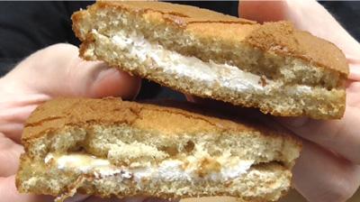 ブランのパンケーキ2個入メープル&ホイップ12