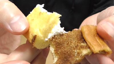 シューロールケーキ カルピスを使用したクリーム11