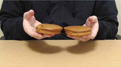 ブランのパンケーキ2個入メープル&ホイップ2
