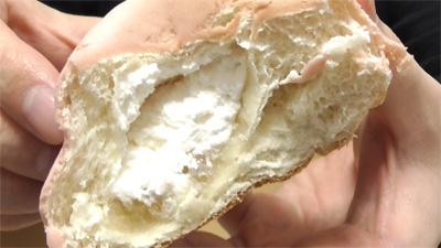 白桃を味わうもちっとパン 白桃ジャム&ホイップ15