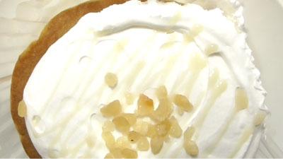 ココナッツミルククリームのパンケーキ3
