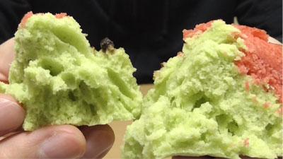 すいか蒸しパン(第一パン)13