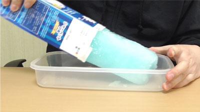 業務スーパー シャーベットの素ソーダ7