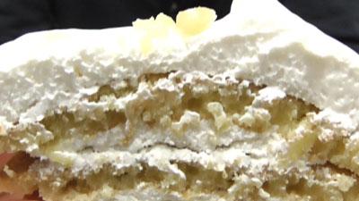 ココナッツミルククリームのパンケーキ8