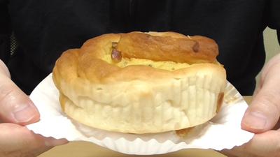 ナッツ&バナナケーキロール(第一パン)4