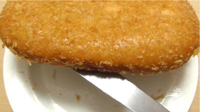 コロッケ風パン-あぐー豚(第一パン)4