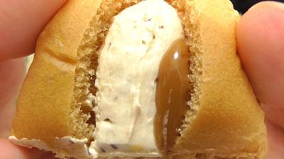 ちぎりパン-キャラメルクリーム(セブンイレブン)10