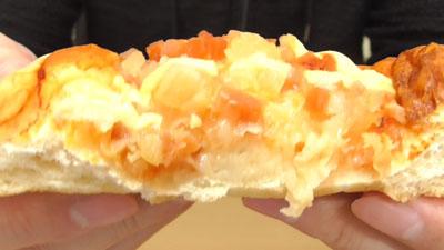 ピザパン-パイン&アップル(ファミリーマート)11