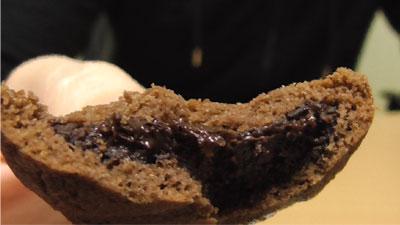業務スーパー-ヘーゼルナッツクリーム入りクッキー13