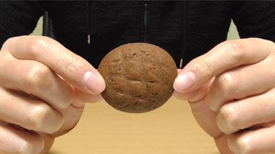 業務スーパー-ヘーゼルナッツクリーム入りクッキー5