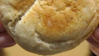 マチノパン-もち麦とくるみのチーズクリームパン-2個入り(ローソン)6