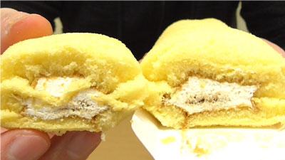 ロールちゃん-期間限定プリンクリーム味(山崎製パン)9