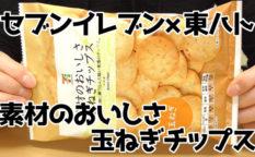 素材のおいしさ-玉ねぎチップス(セブンイレブン×東ハト)