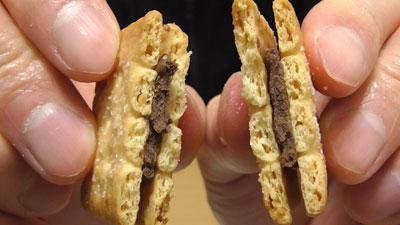 業務スーパー-バターココナツサンドチョコレート14