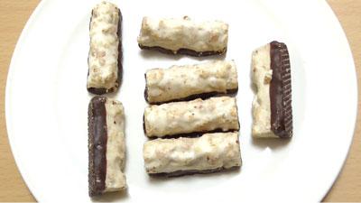 食物繊維たっぷり-グラノーラチョコ-ココナッツ味(セブンイレブン)2